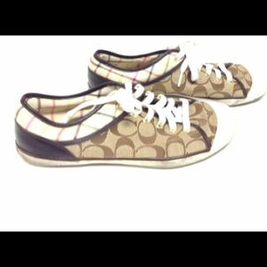 New Listing Womens Coach sneakers sz 9.5M
